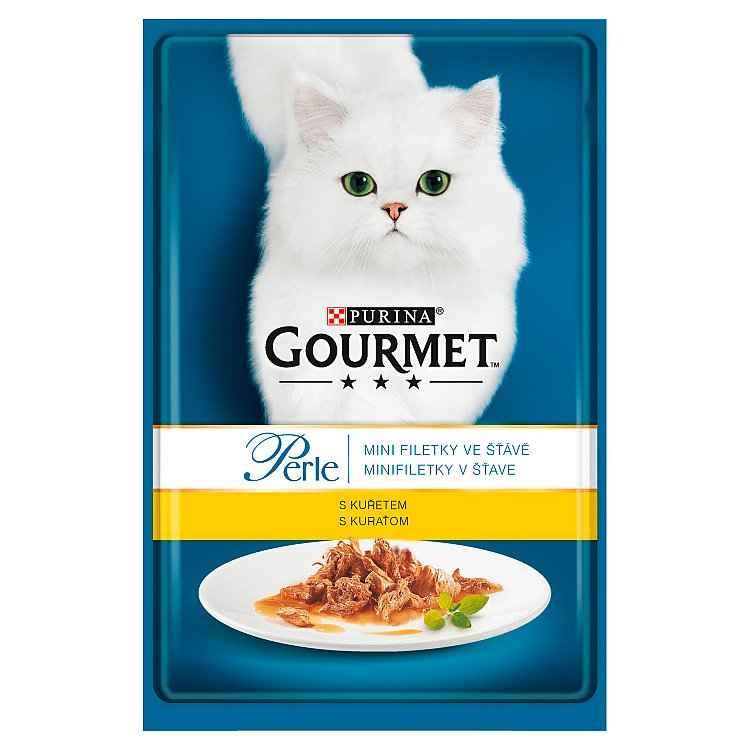 Gourmet Perle kapsička s kuřecím masem 85g