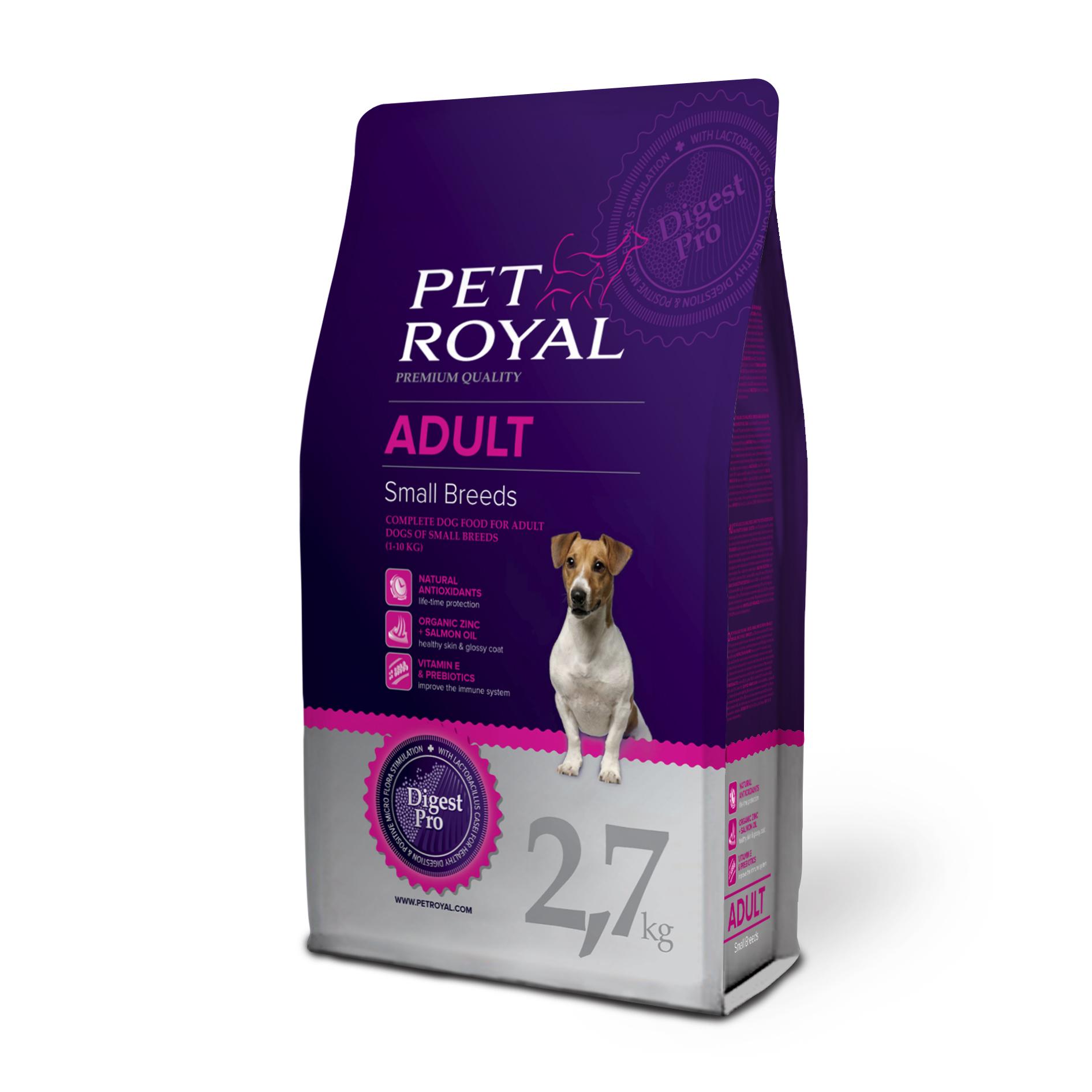 Pet Royal Adult Dog Small Breeds pro malá plemena 2,7kg