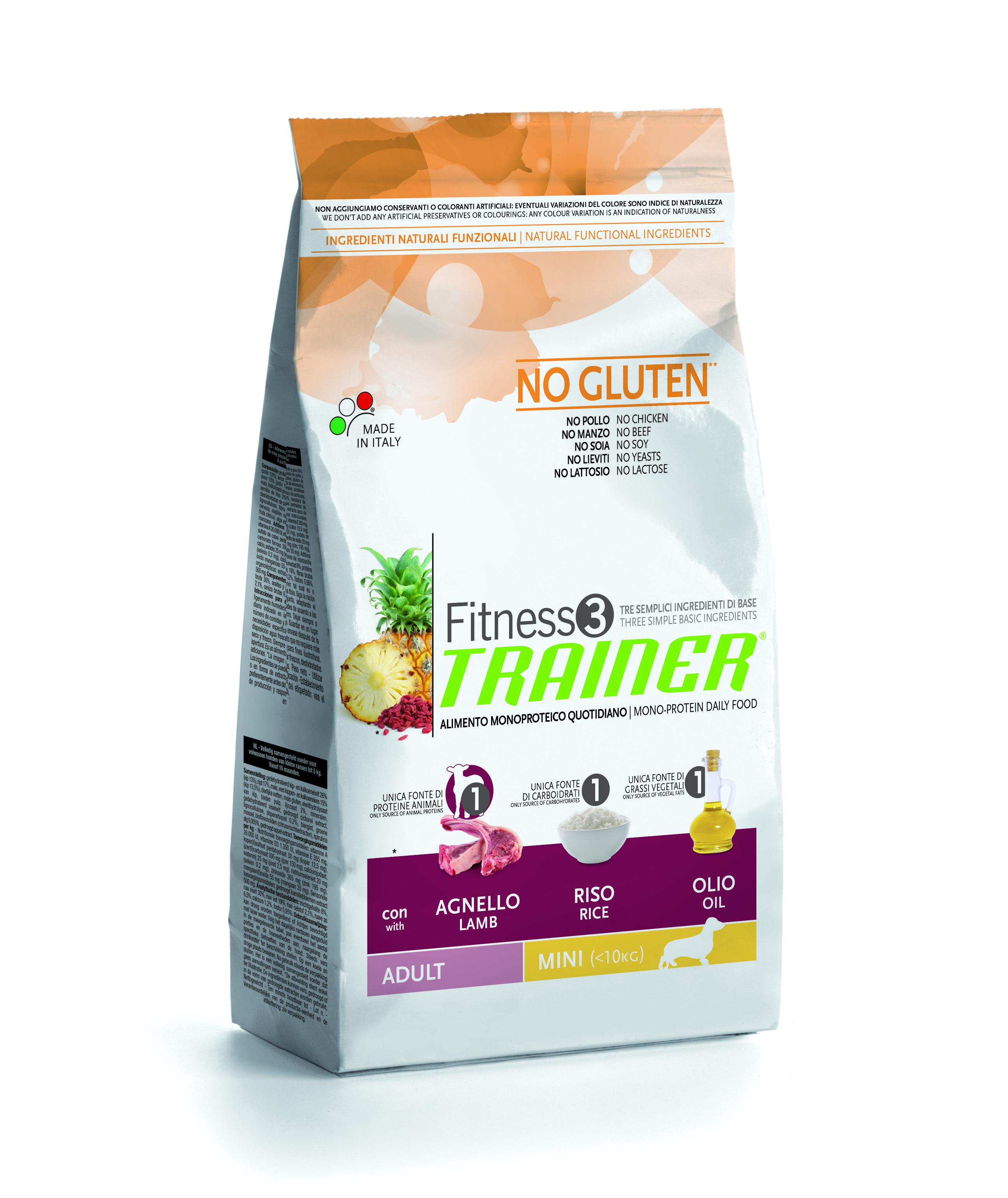 Trainer Fitness3 Adult Mini jehně+rýže 7,5kg