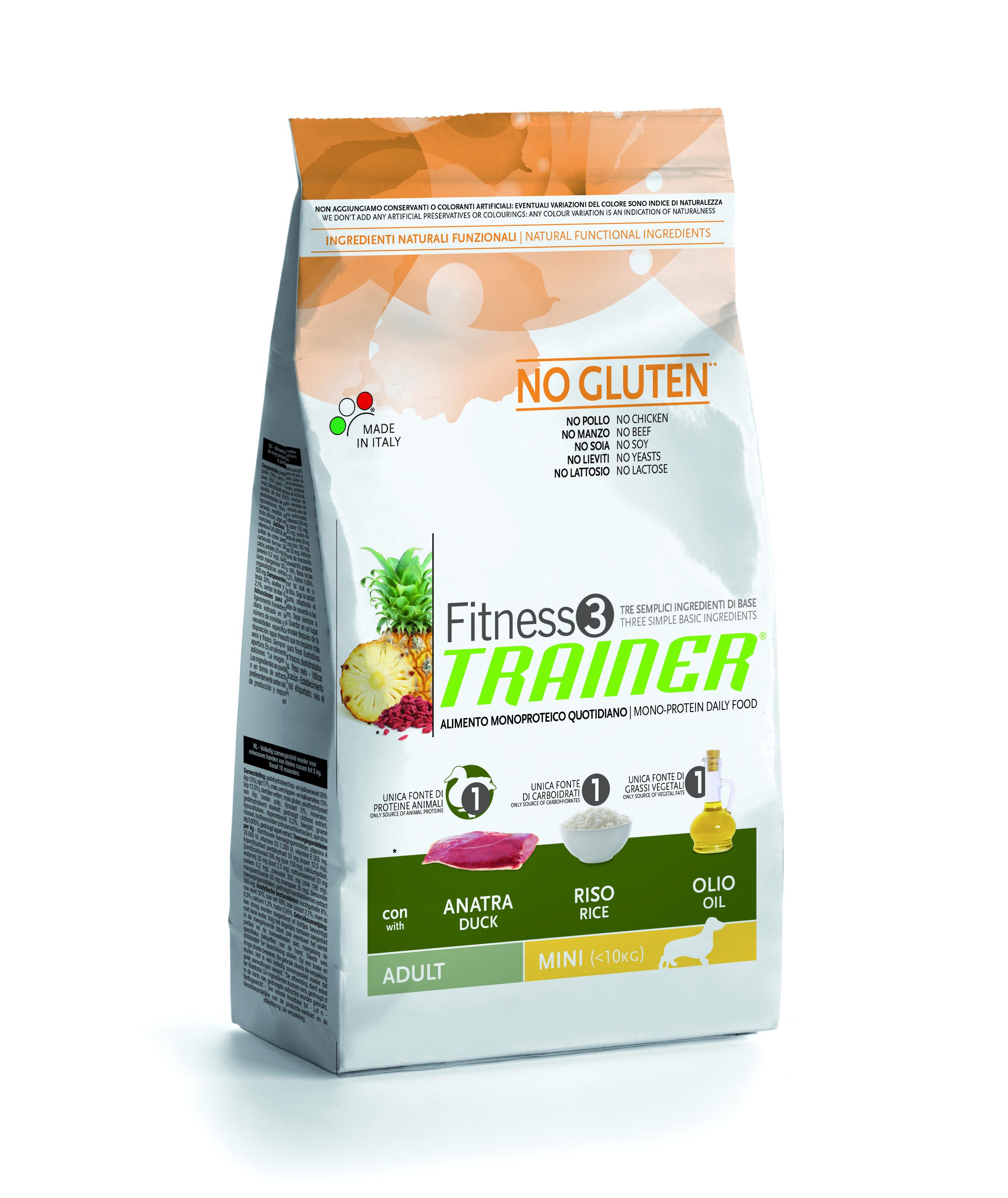 Trainer Fitness3 Adult Mini kachna+rýže 7,5kg
