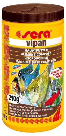 Sera základní krmivo pro okrasné ryby Vipan 1000ml