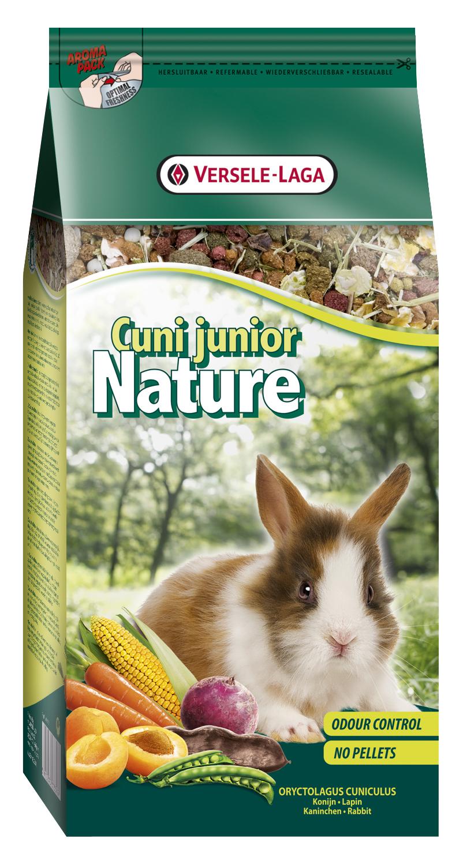 Fotografie Versele-Laga Nature Junior kompletní krmivo pro mladé králíčky 750g