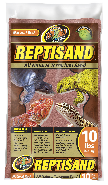 ZMD ter.pisek Repti Sand prirodni cerveny 4,5kg