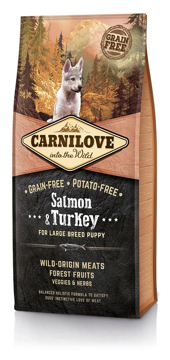 Fotografie Carnilove Salmon &Turkey LB 12kg