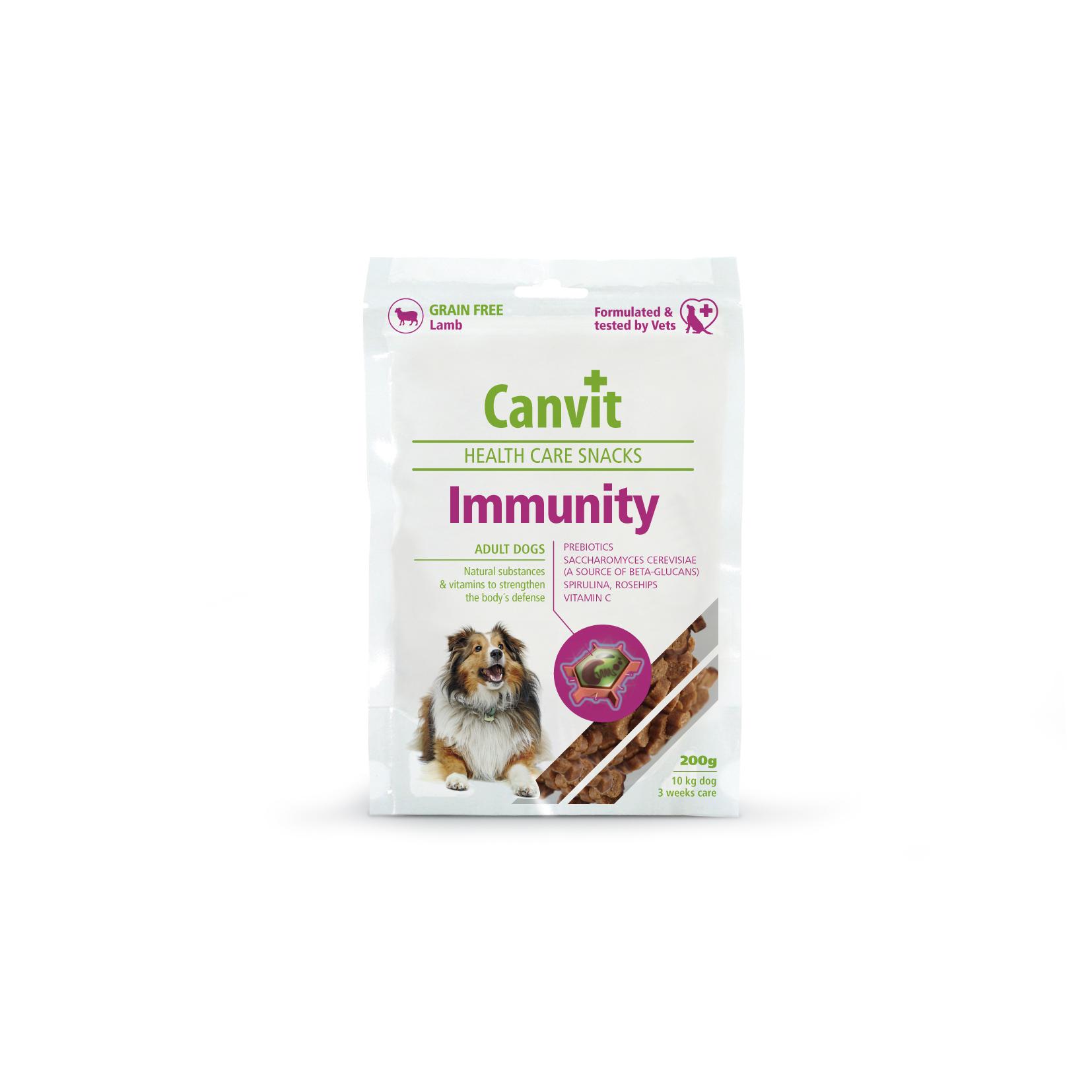 Fotografie Canvit Snack Immunity pro psy 200g