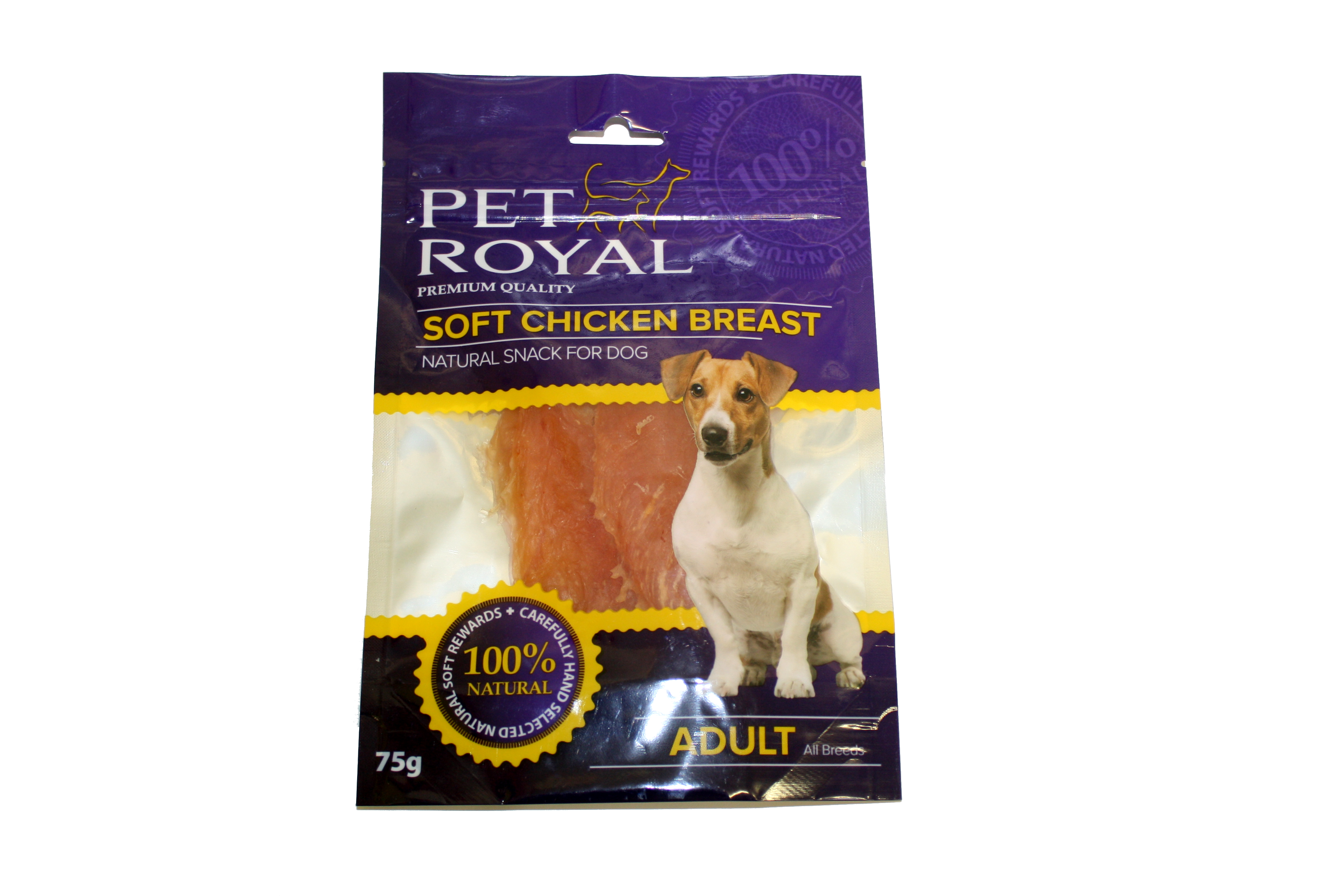 Pet Royal Dog Soft kuřecí prsa 75g