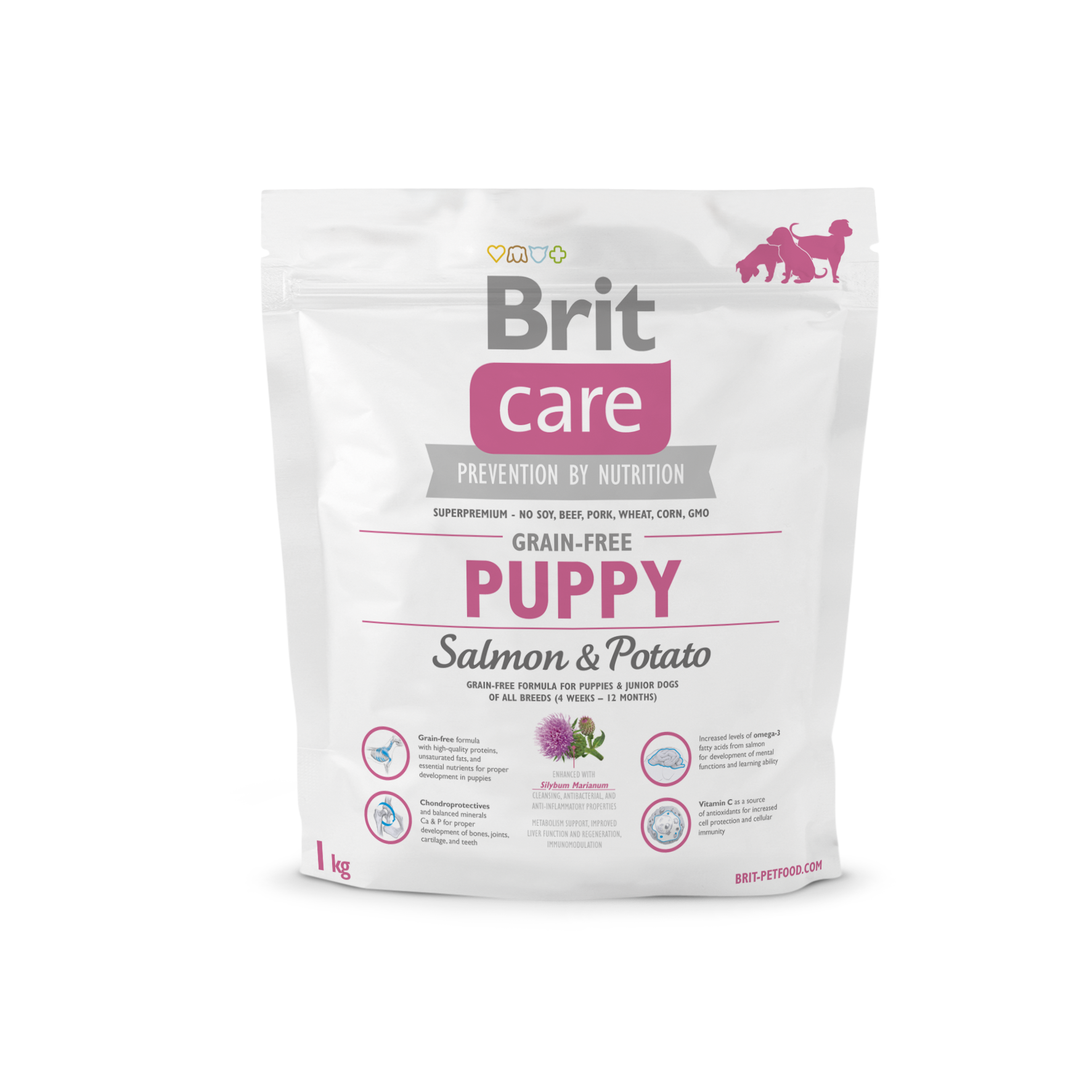Brit Care Grain Free Puppy Salmon & Potato 1kg
