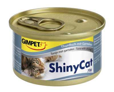 Konz.SHINY CAT tunak+kreveta 70g