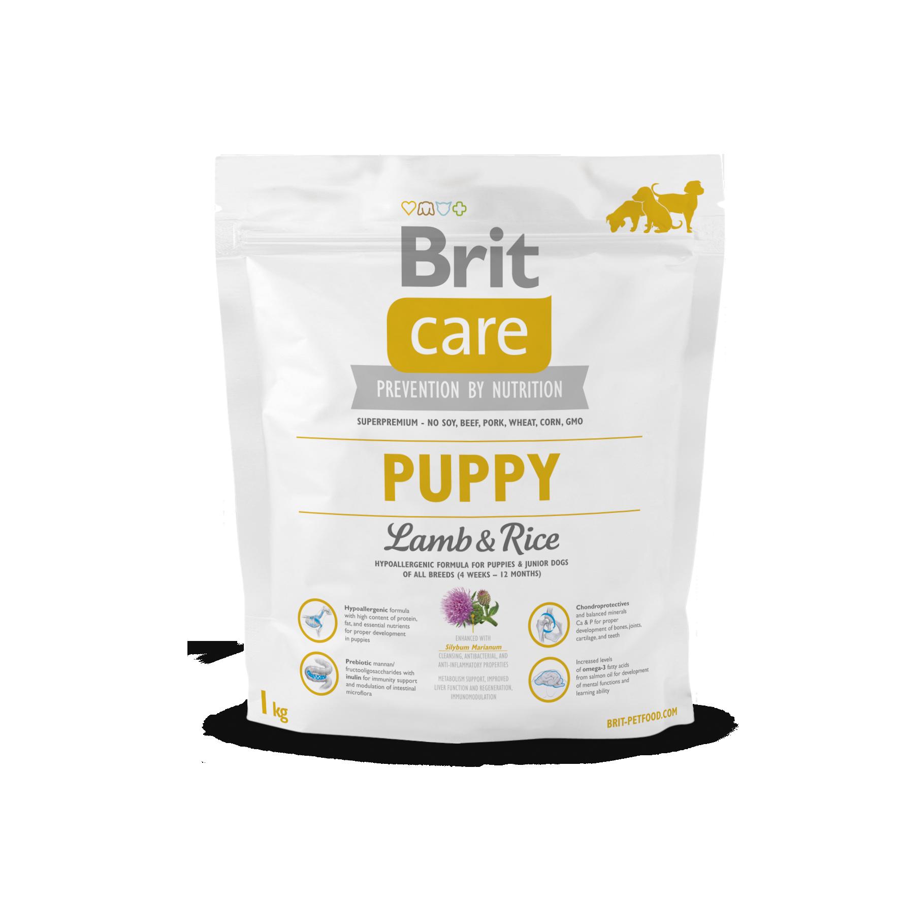 Fotografie Brit Care Puppy Lamb & Rice 1kg BRIT CARE