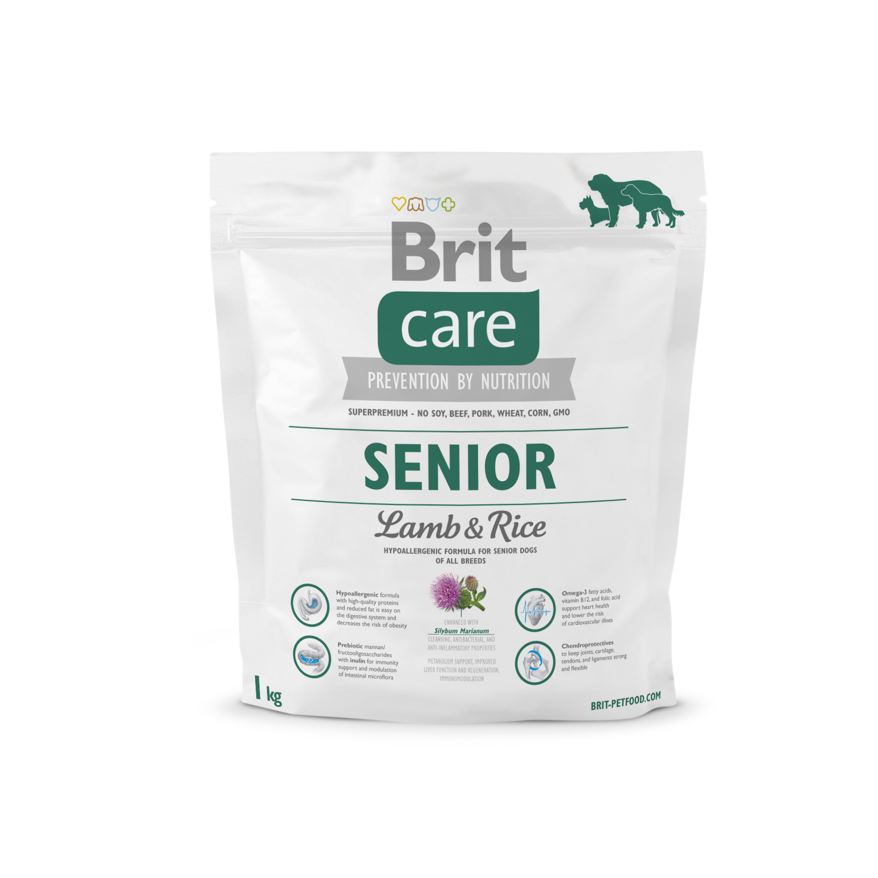 Brit Care Senior Lamb & Rice 1kg