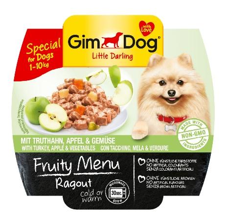 Gimdog Fruity menu Ragout krocanem jablkem a zeleninou 100 g