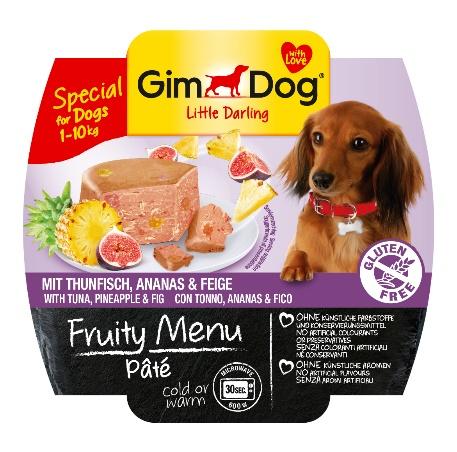 Gimdog Fruity menu Paté tuňák s ananasem a fíky 100 g