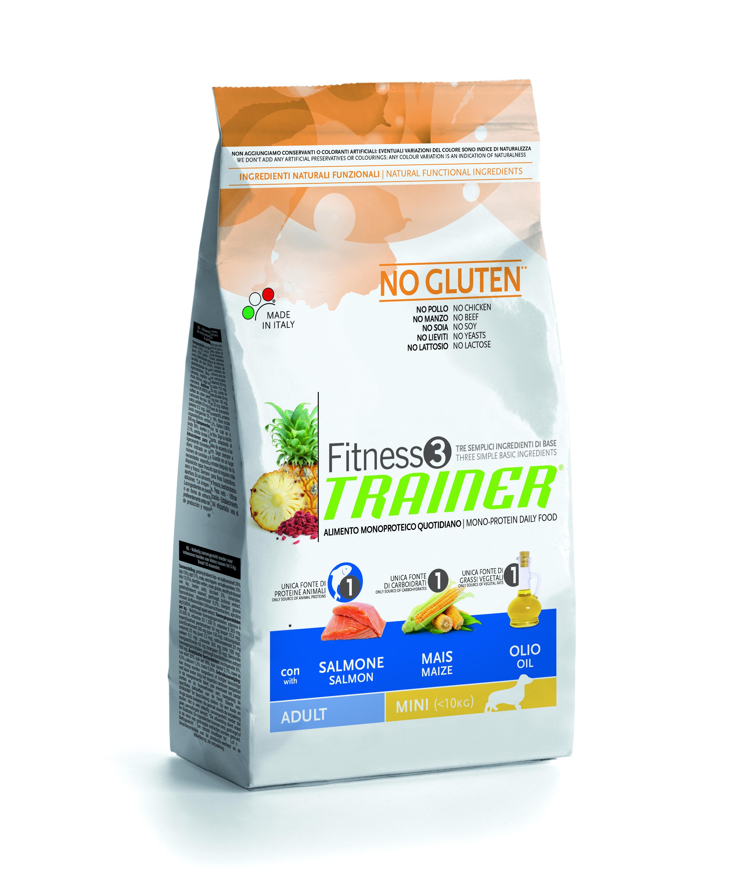 TRAINER Fitness3 Adult Mini Fish&Maize 7,5kg