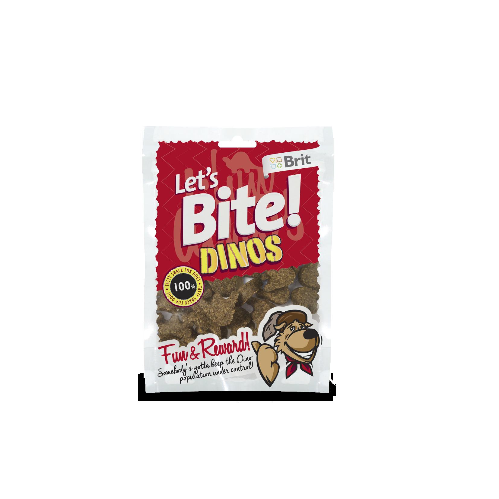 Brit Lets Bite Dinos 150g