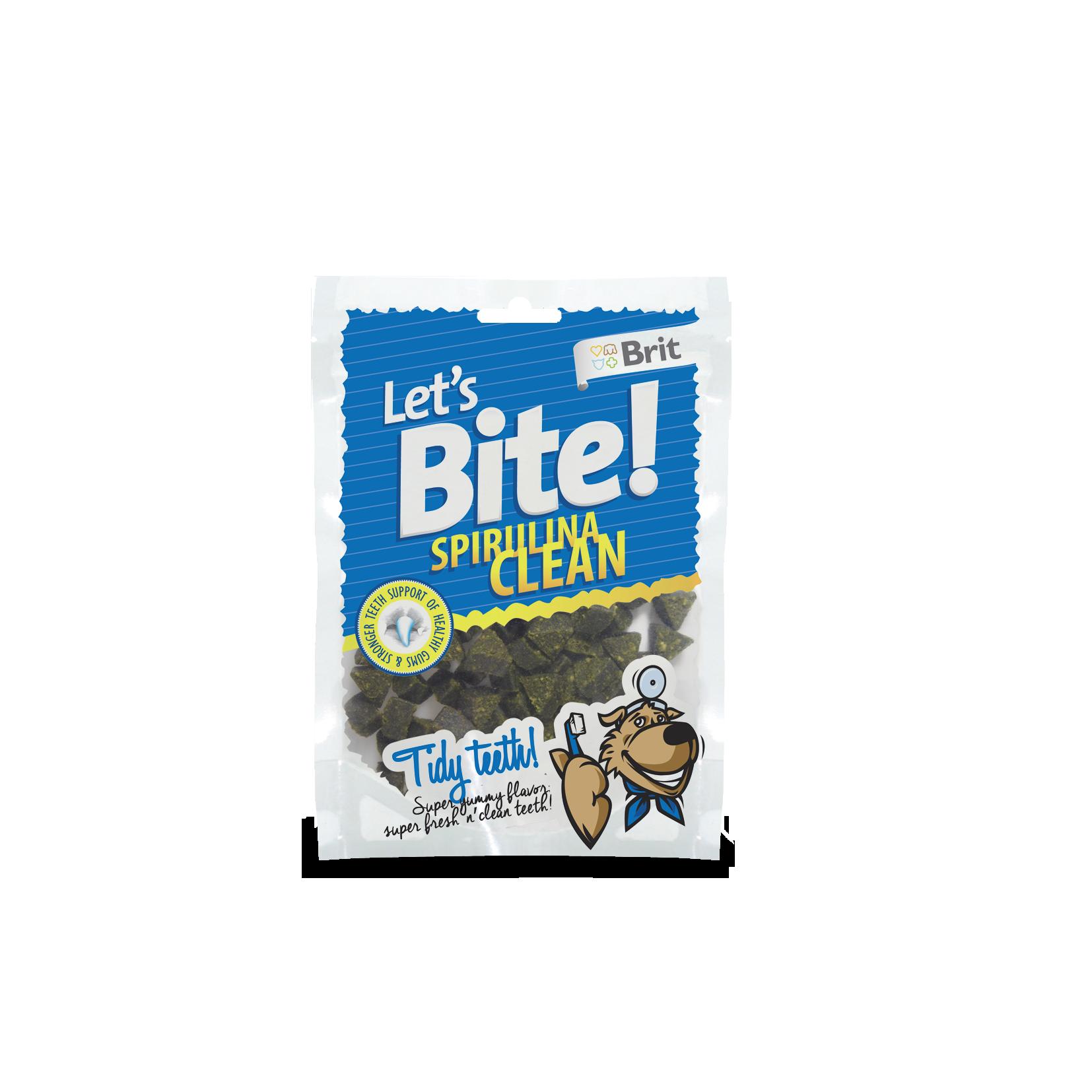 Brit Lets Bite Spirulina Clean 150g