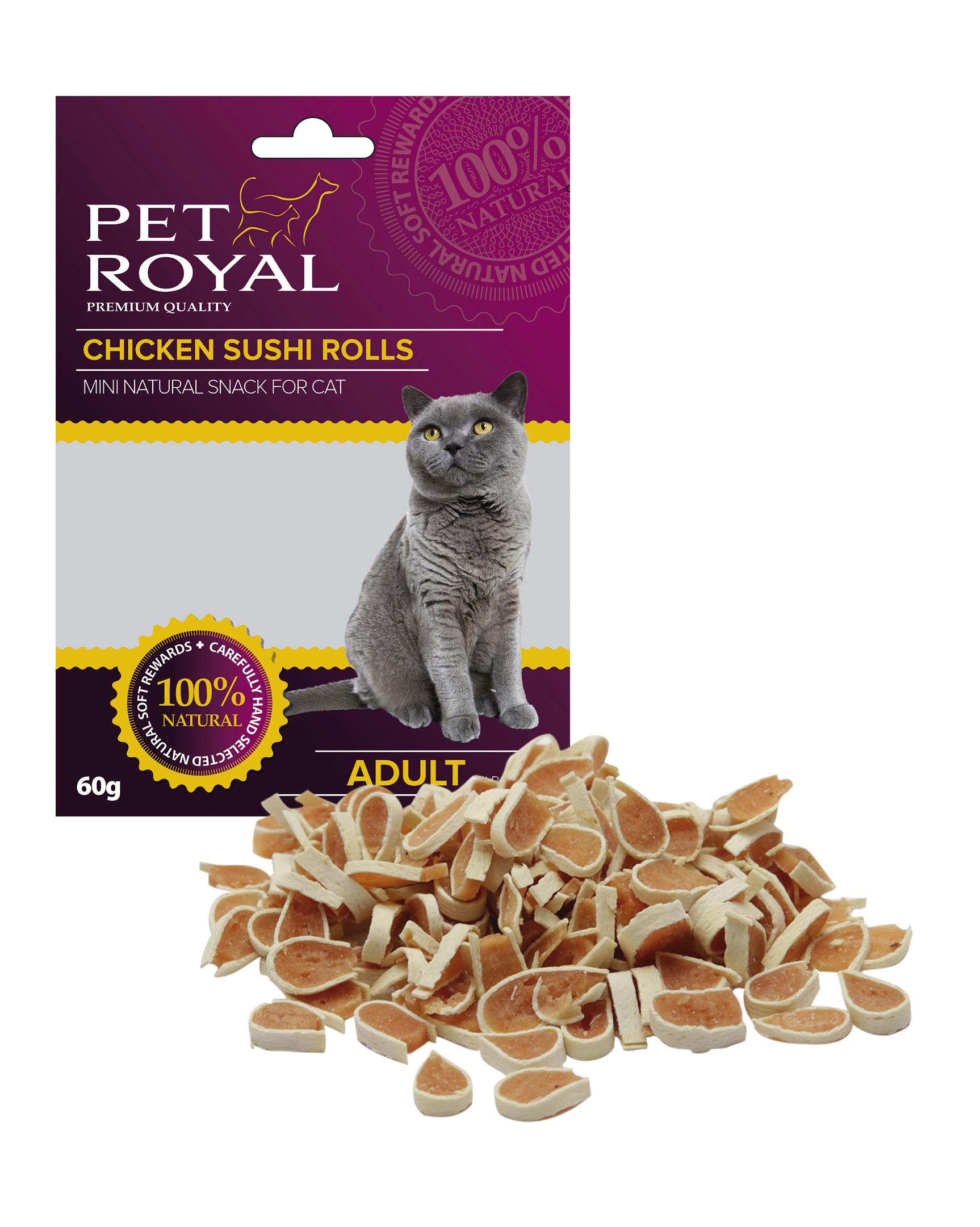 Pet Royal Cat kureci Sushi 60g