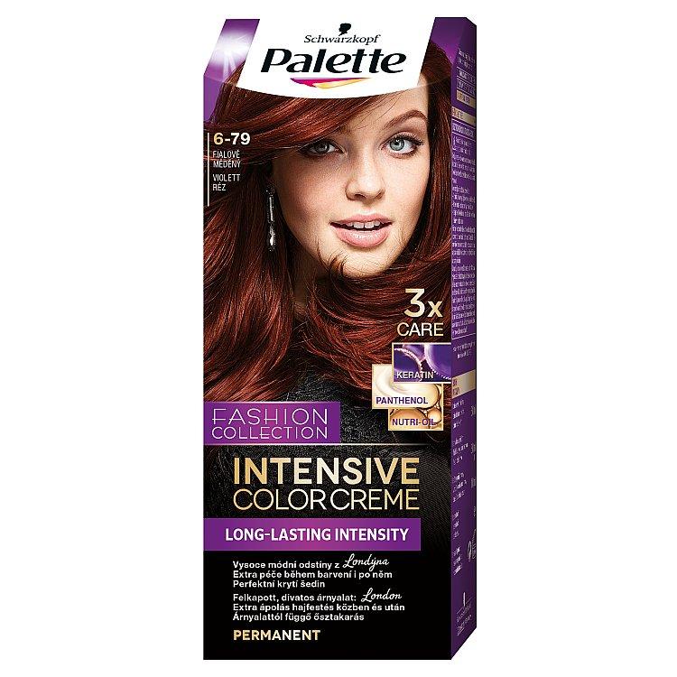 Palette Intensive Color Creme barva na vlasy 6-79 Fialově měděný