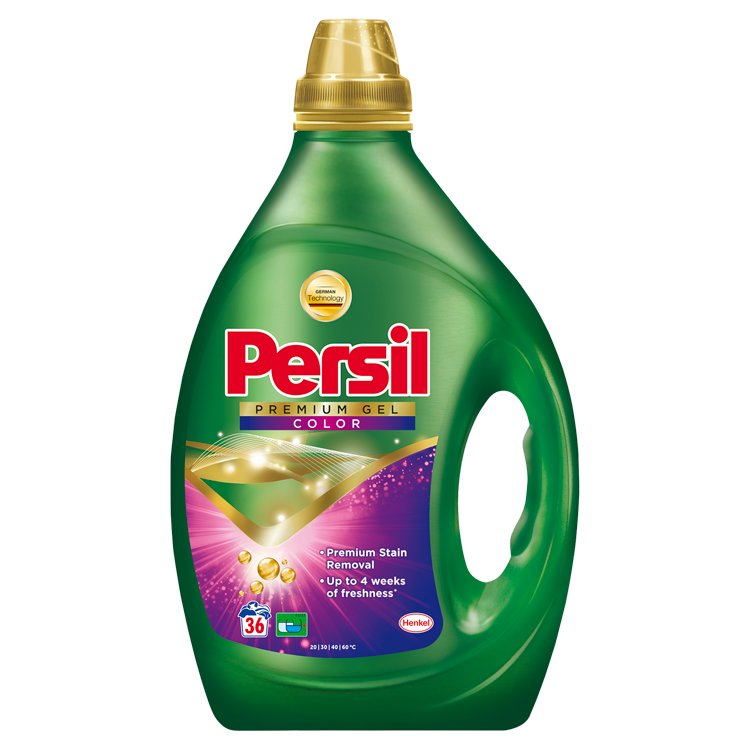 Persil Premium Color gel, 36 praní 1,80 l