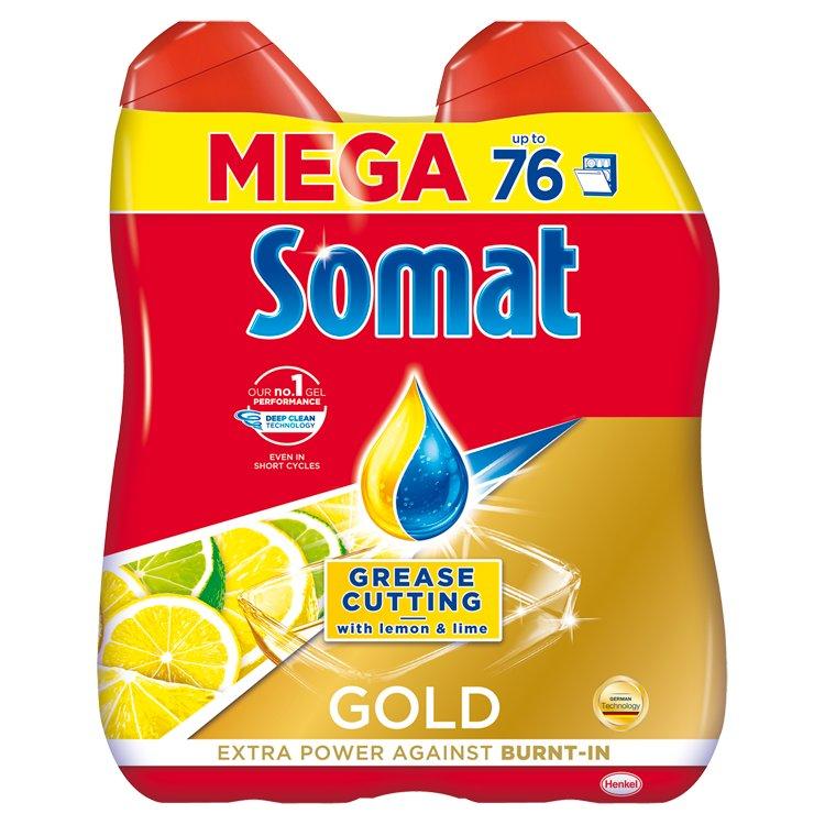 Somat Gold Anti-grease Lemon gel 2x684ml