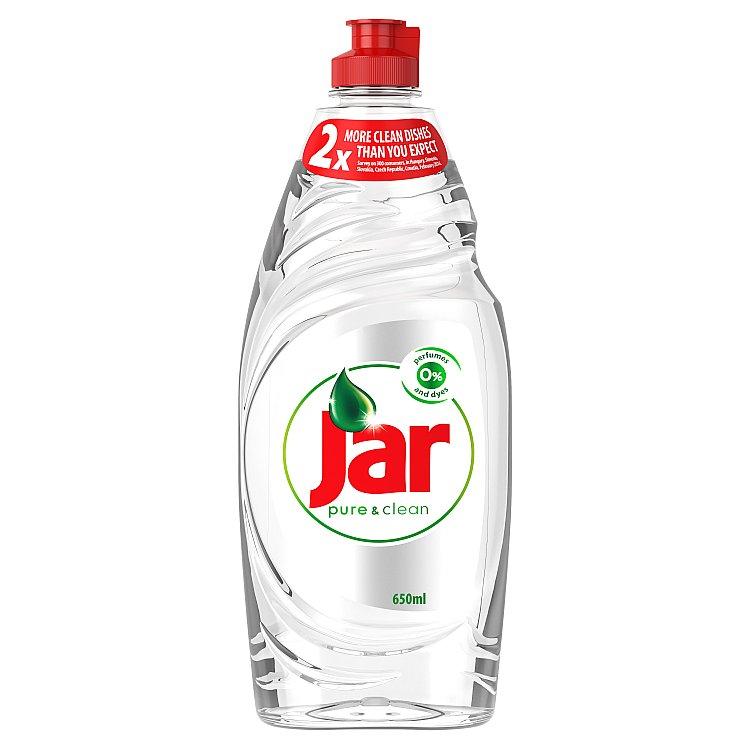 Jar Pure&Clean prostředek na nádobí 650 ml