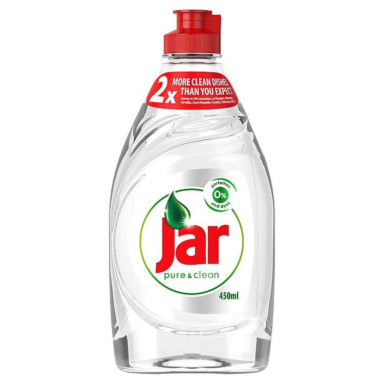 Jar Pure&Clean prostředek na nádobí 450ml