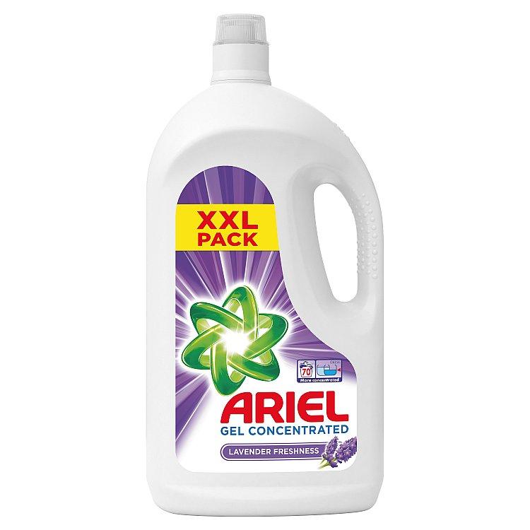 Ariel Lavender tekutý prací prostředek, 70 praní 3,85 l