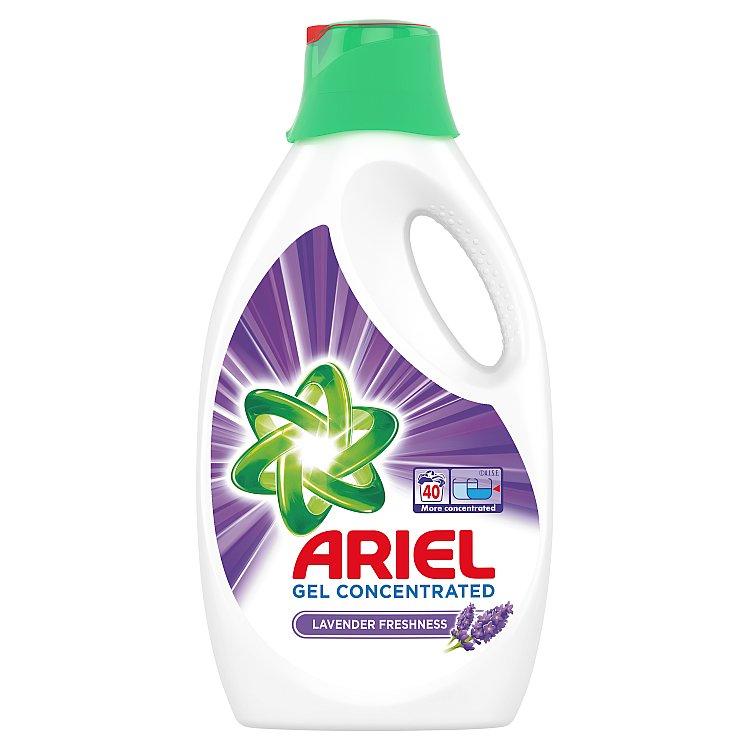 Ariel Lavender tekutý prací prostředek, 40 praní 2,2 l