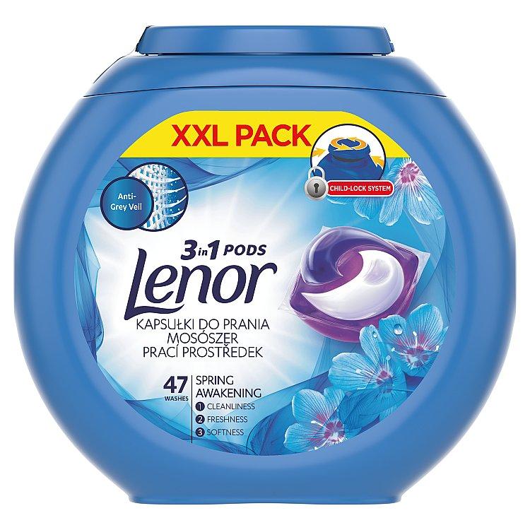 Lenor Spring Awakening gelové kapsle na praní 47 ks