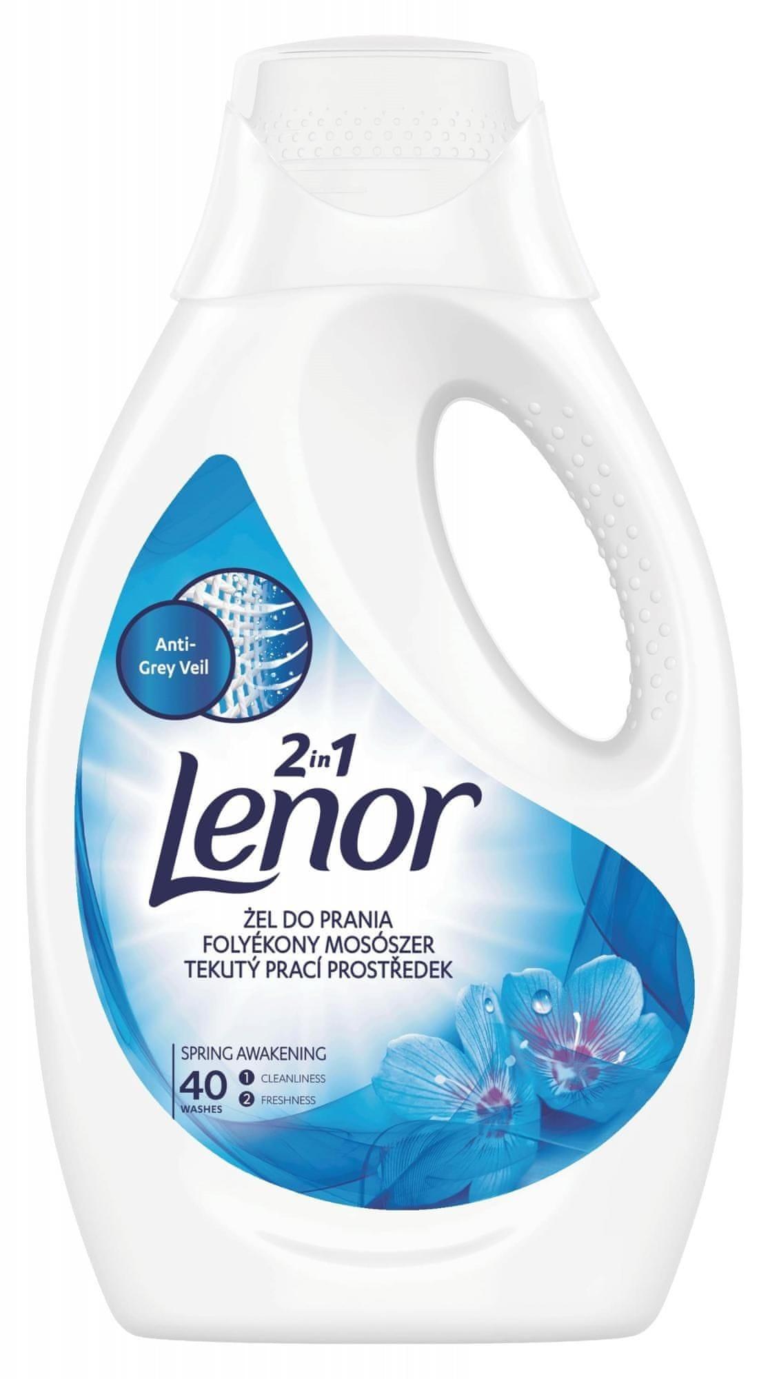Lenor Spring Awakening prací gel 40 praní 2,2 l