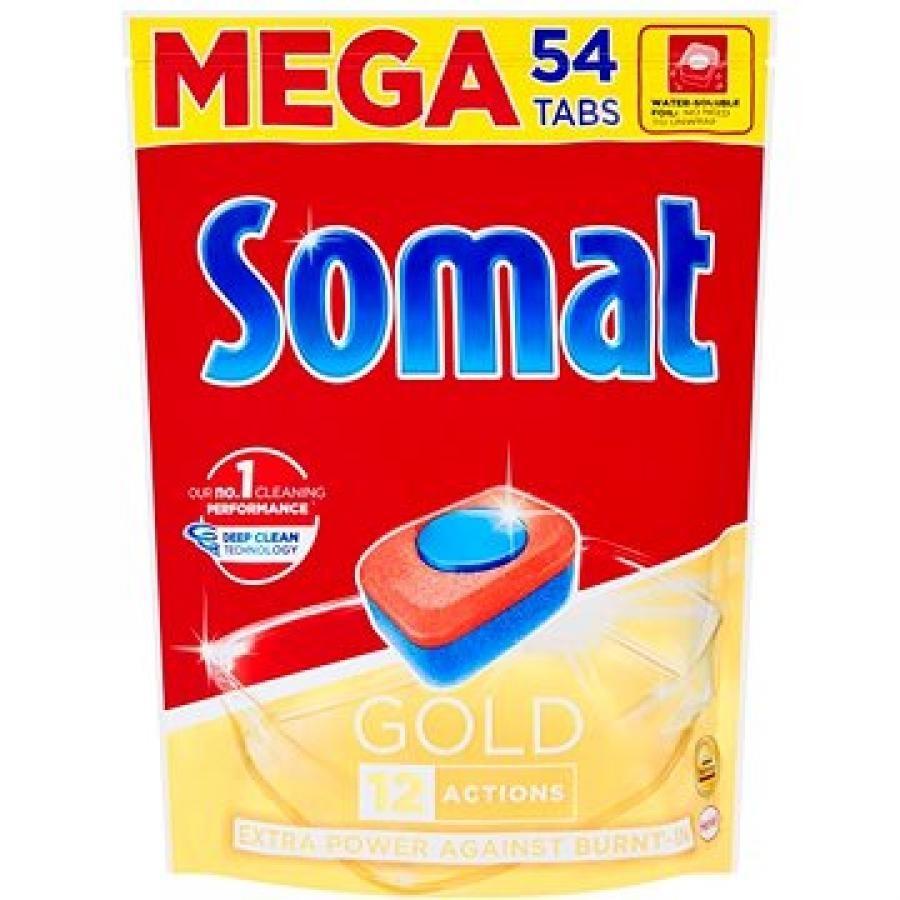 Somat Gold Tablety do myčky na nádobí 54 ks