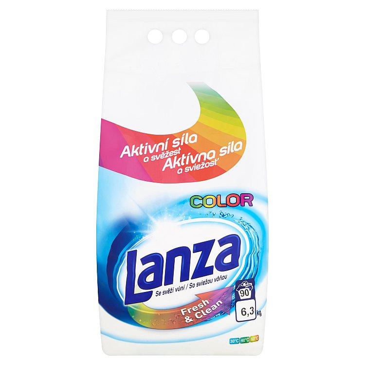 Lanza Fresh & Clean na barevné prádlo, 90 praní 6,3 kg