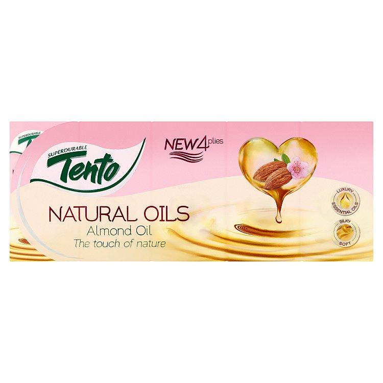 Fotografie TENTO Natural Oils Almond 10 × 10 ks