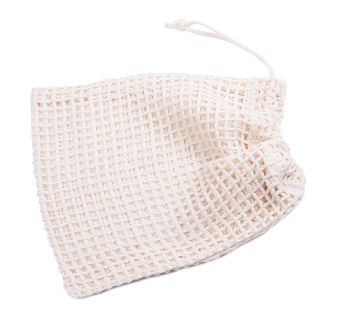 Síťový sáček z biobavlny - mini 19 × 16 cm
