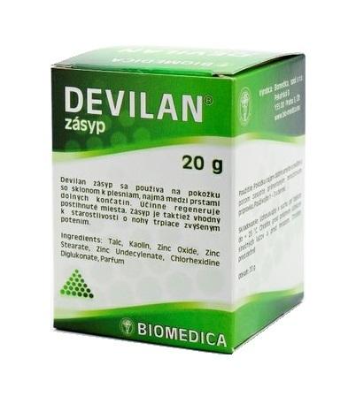 Devilan zásyp 20 g