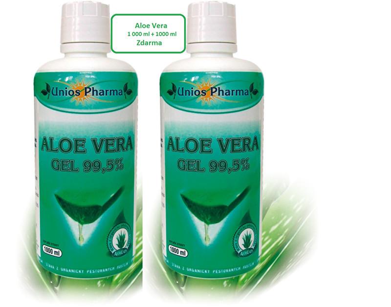Aloe vera gel 99,5% 1 l + Aloe vera gel 99,5% 1 l ZDARMA