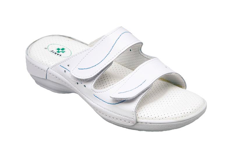 Zdravotní obuv dámská N/124/1/10/B bílá vel. 36