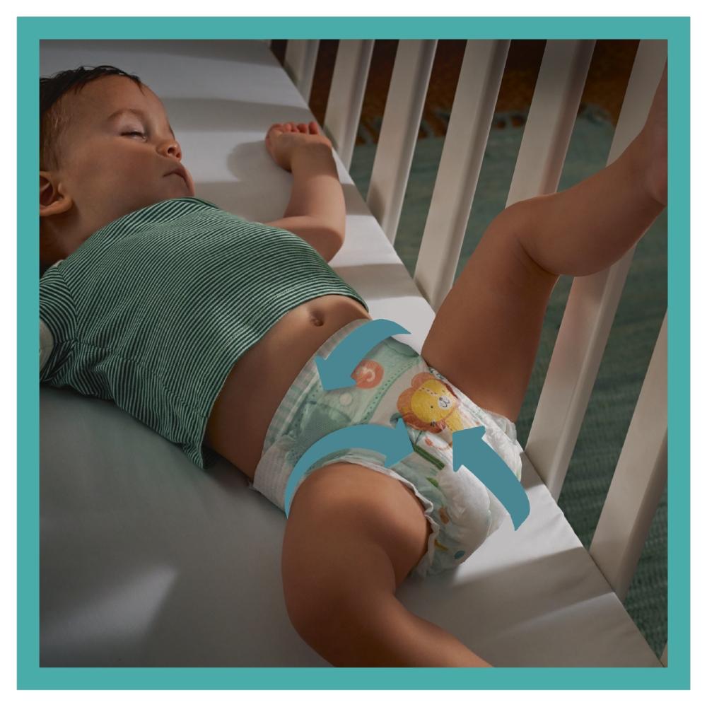 Pampers Active Baby plenky 4+ (10 - 15 kg) 53 ks
