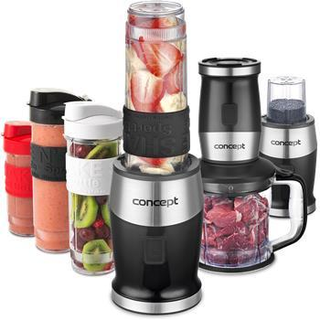 Fresh & Nutri smoothie mixér + chooper + mlýnek SM3390