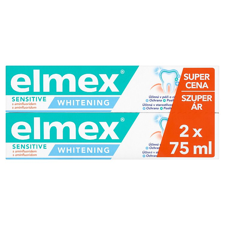 Elmex Sensitive whitening duopack 2 x 75 ml