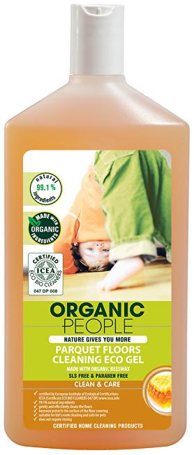 Eko čistící gel na parkety s organickým včelím voskem 500 ml