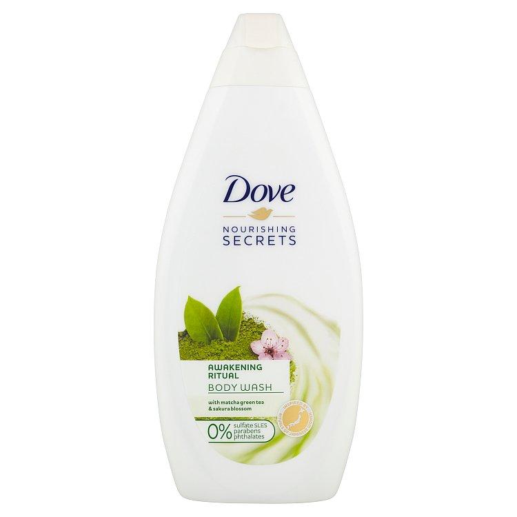 Dove Matcha Tea & Sakura Blossom sprchový gel 500 ml