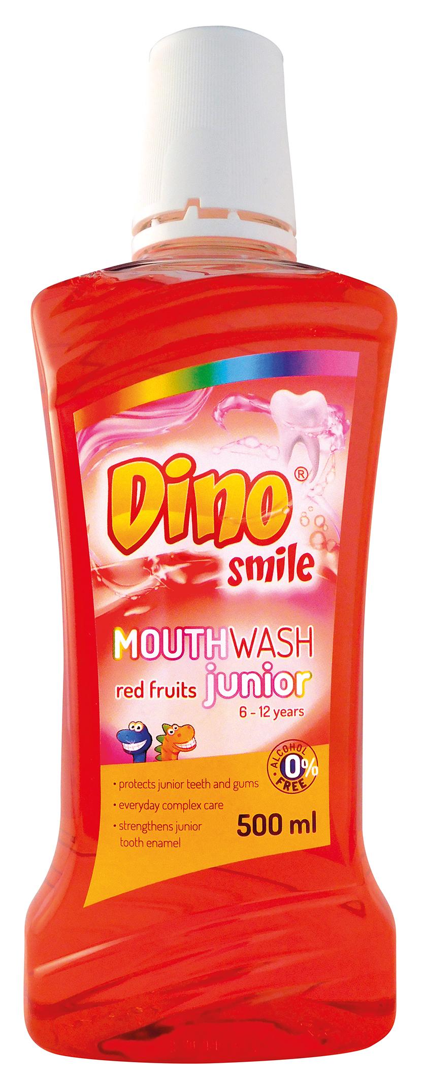 DINO Smile ústní voda dětská 500 ml