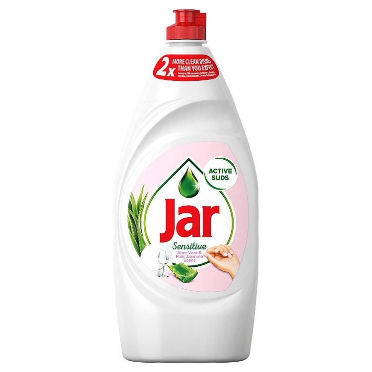 Jar Sensitive Aloe Vera&Pink Jasmin tekutý prostředek na nádobí 900 ml