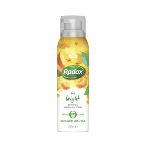 Radox Feel Bright sprchová pěna 200 ml