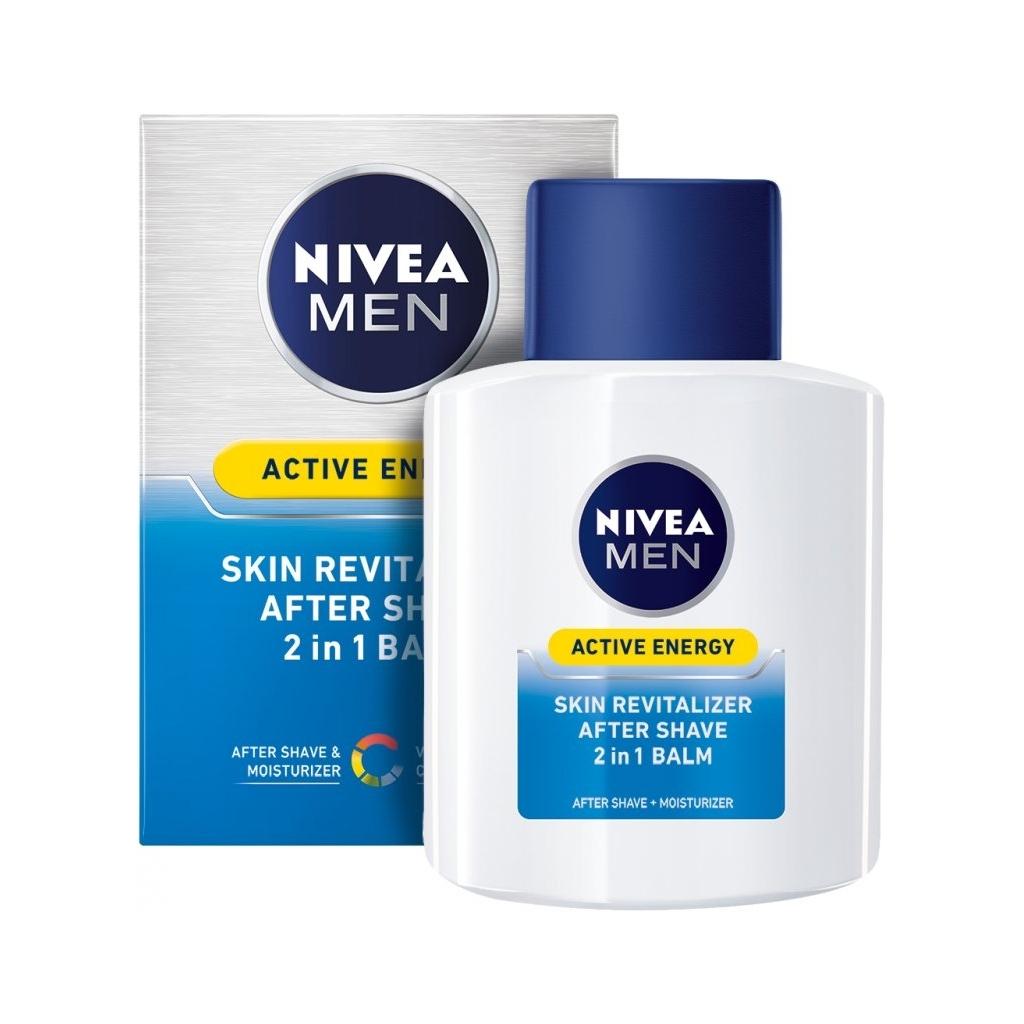 Nivea Men balzám po holení Active Energy 2V1 100 ml