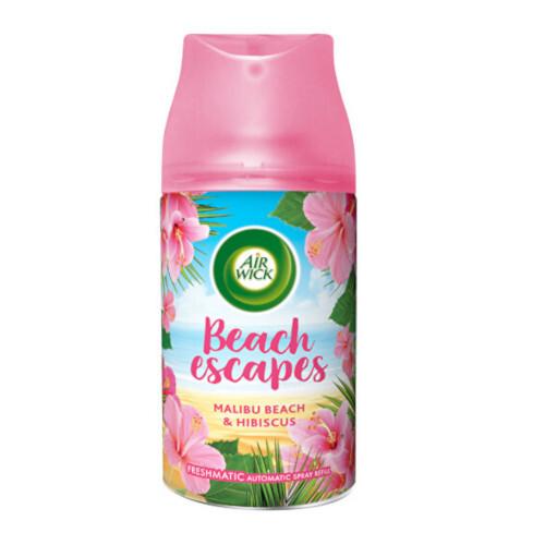 Air Wick Freshmatic náhradní náplň do osvěžovače vzduchu - Malibu pláž & ibišek 250 ml