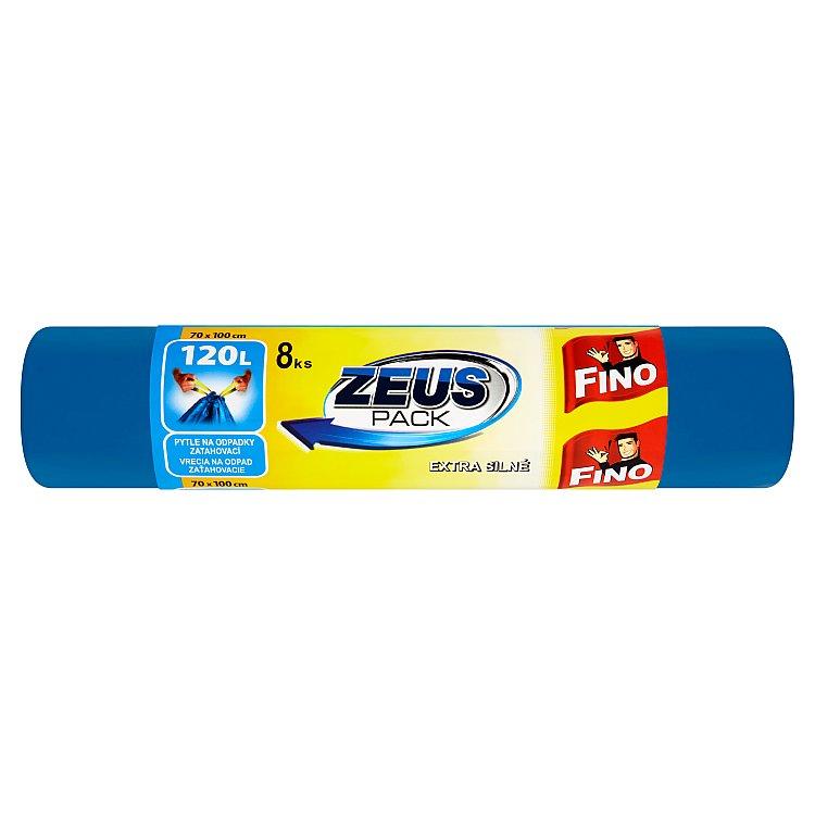 Fino Zeus Pack pytle na odpadky zatahovací 120 l 8 ks
