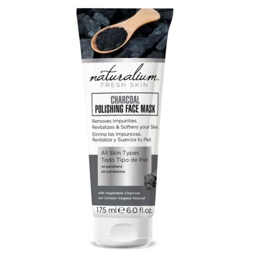 Naturalium Maska na obličej s dřevěným uhlím 75 ml