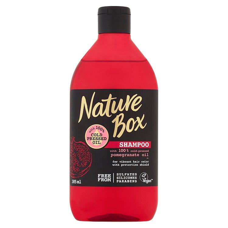 Fotografie Nature Box šampon Granátové jablko 385 ml