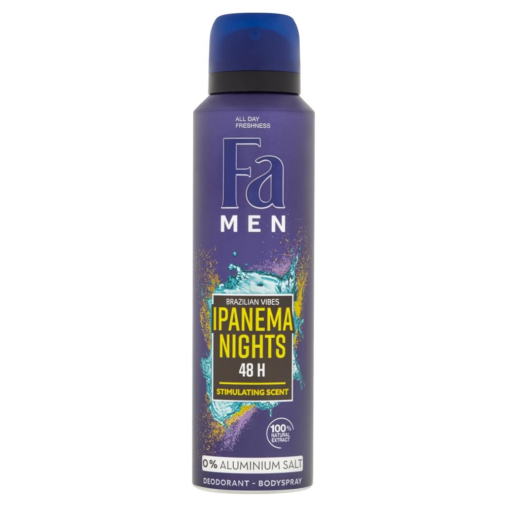 Fa Men Deodorant pro muže Brazilian Vibes Ipanema Nights 150 ml